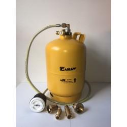 Bombona recargable GLP 6 kg con toma Gaslow carga exterior