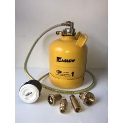 Bombona recargable GLP 2,7 kg con toma Gaslow carga exterior