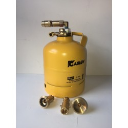 Bombona recargable GLP 2,7 kg con toma de carga directa