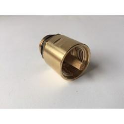 Adaptador con filtro con válvula para Euro-Adaptador